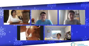 video conference with japanese people