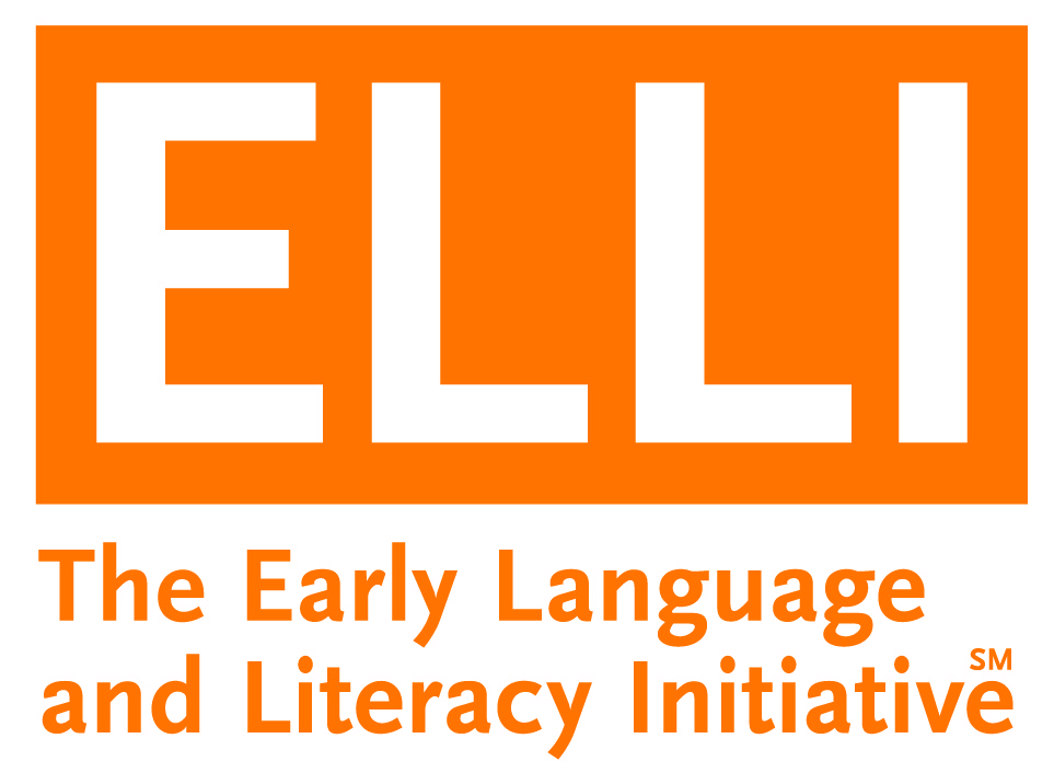 early language and literacy initiative logo in orange