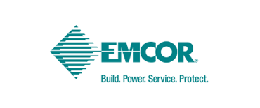 emcor graphic in teal
