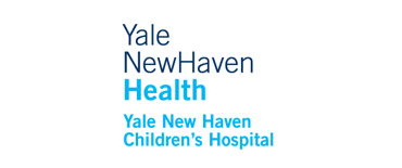 Yale New Haven hospital logo in blue